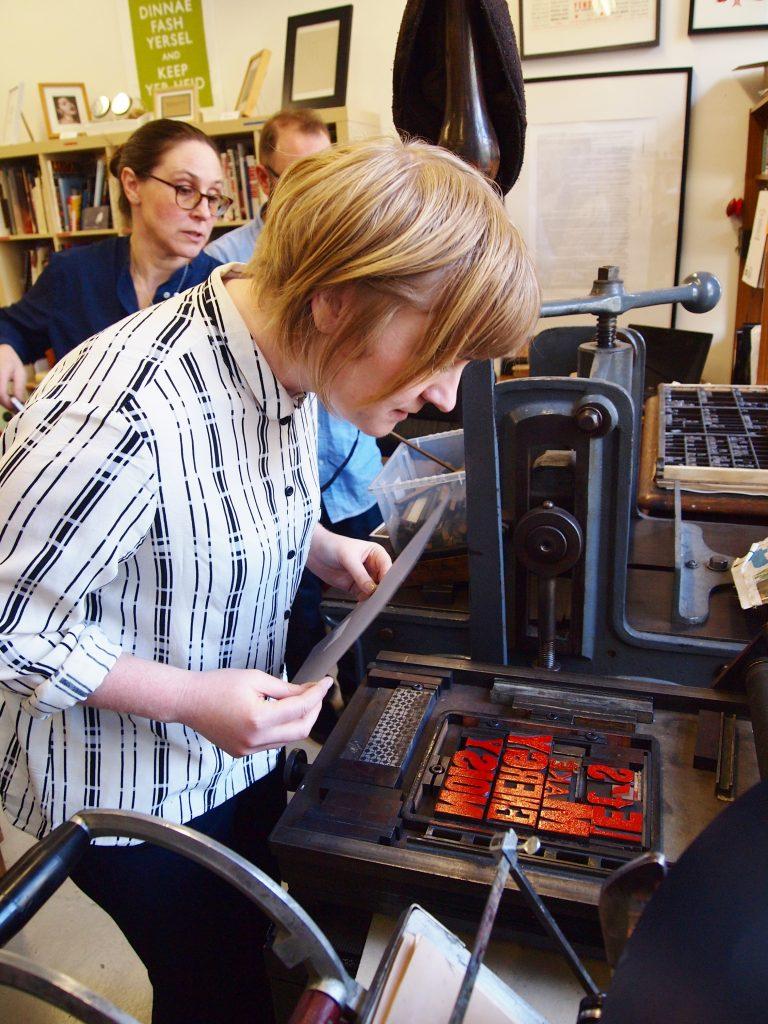 Letterpress Workshop, Derby