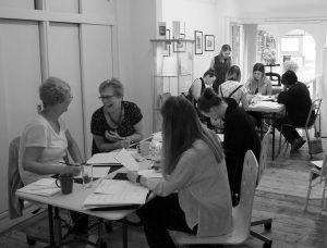 Mint Green Calligraphy workshop