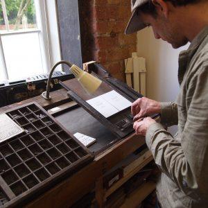 Create a Letterpress Print