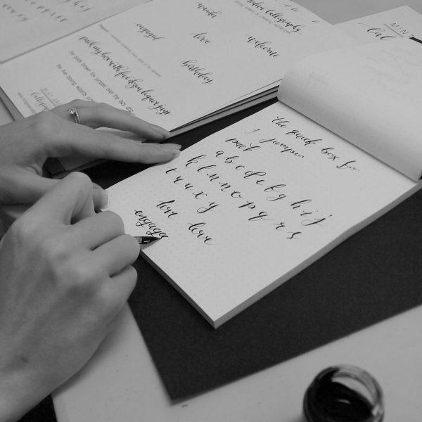 Calligraphy Workshop, Derby
