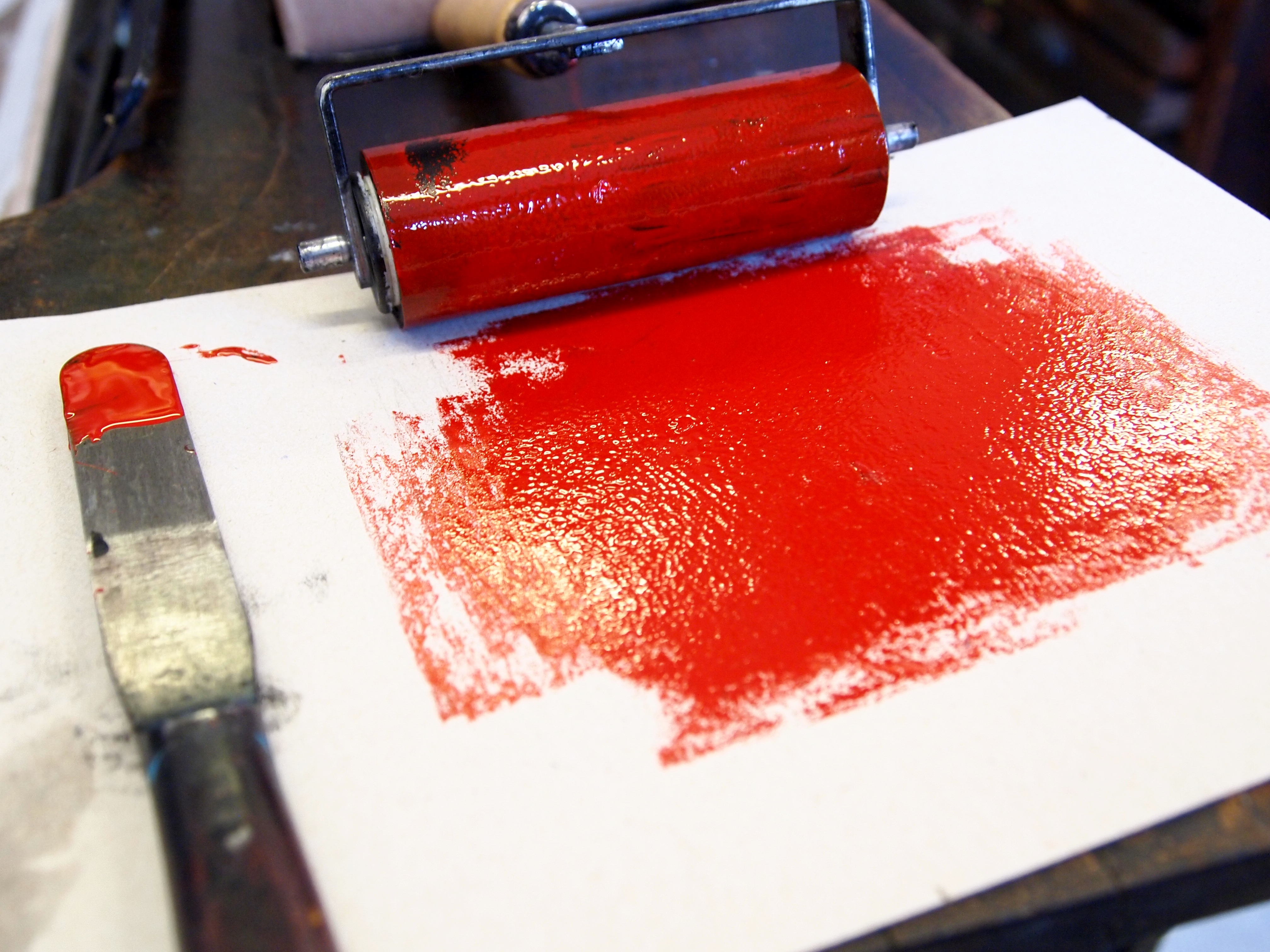 Hand inking