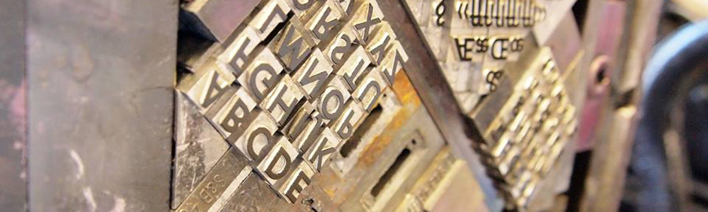 Gill Sans Serif 24pt bold - on the press