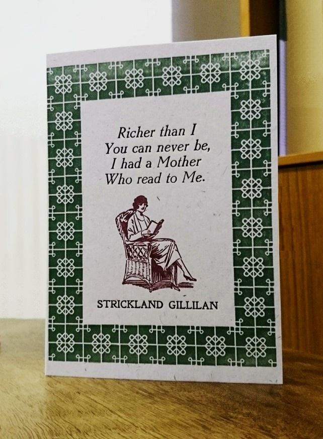 Gillilan card