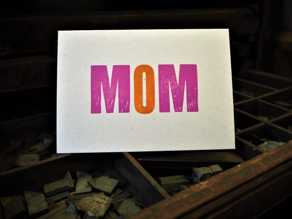 MOM Mother's Day / Birthday card