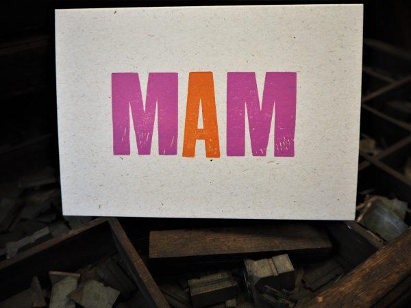 MAM Mother's Day / Birthday card