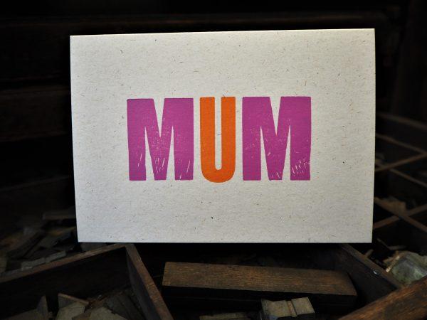 MUM Mother's Day / Birthday card