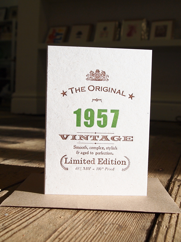 Vintage Celebrations 1957