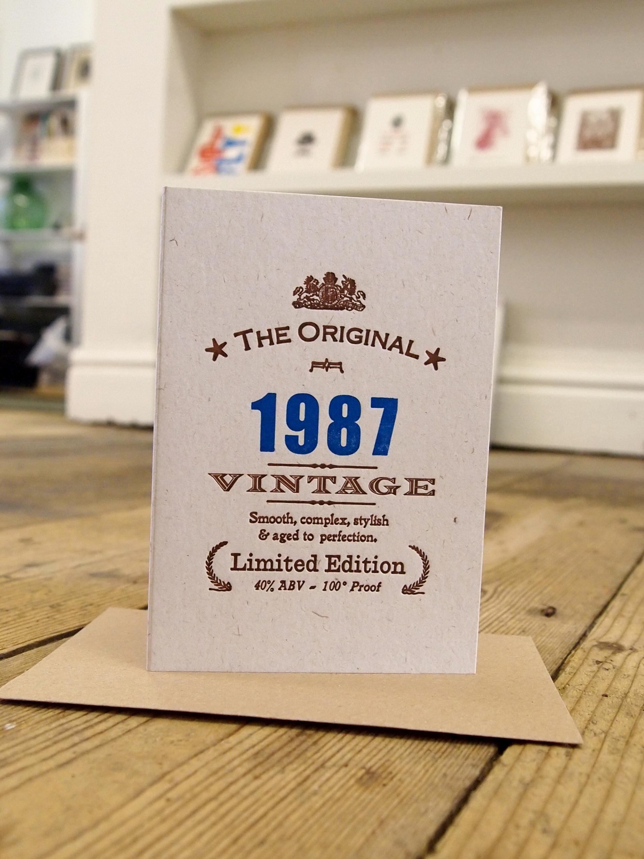 Vintage Celebrations1987