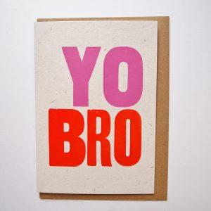 Yo Bro Card