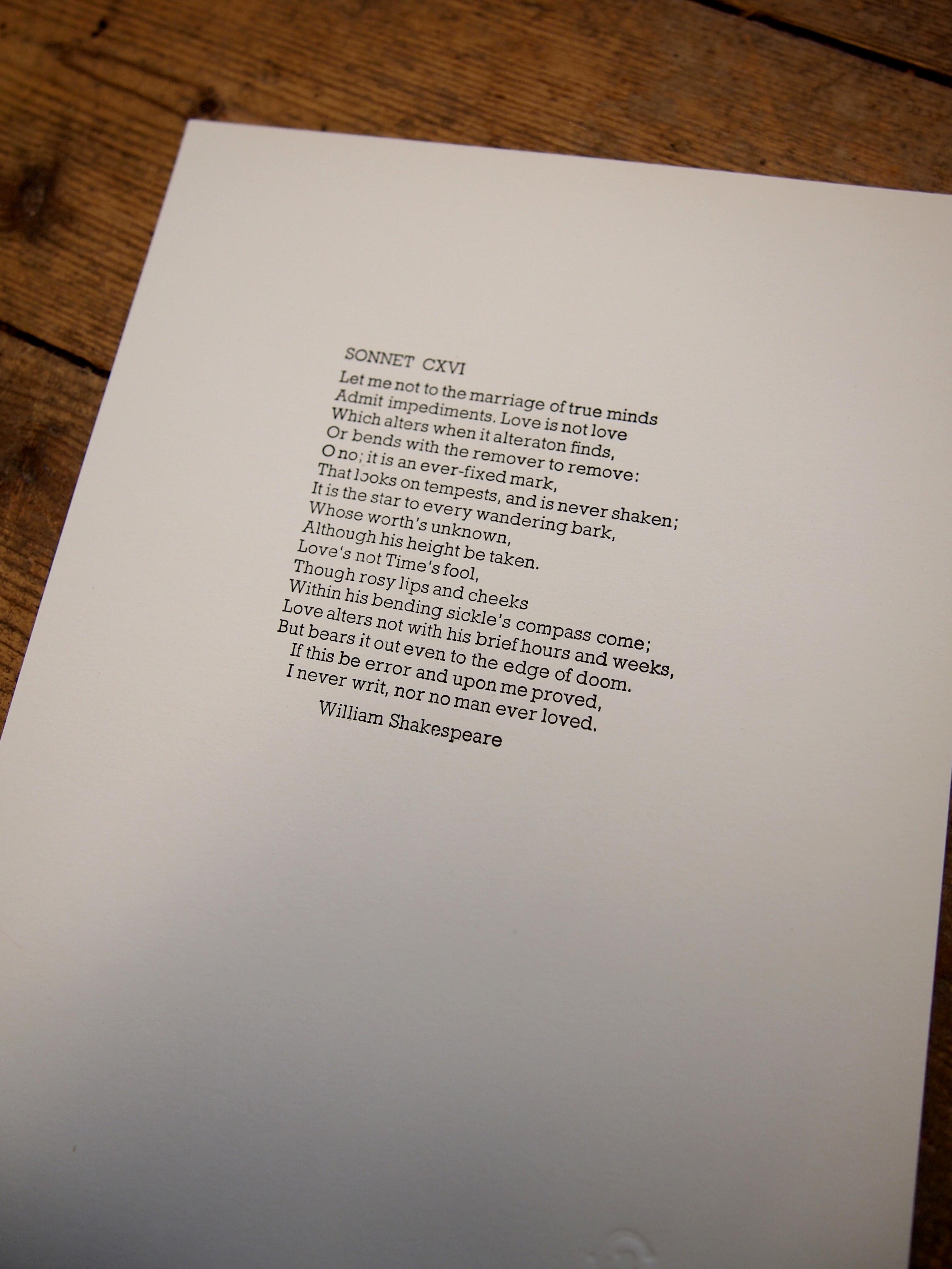 Shakespeare's Sonnet LXVI