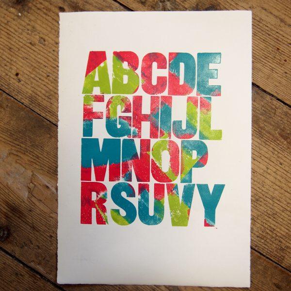 Alphabet Print U/P (1)