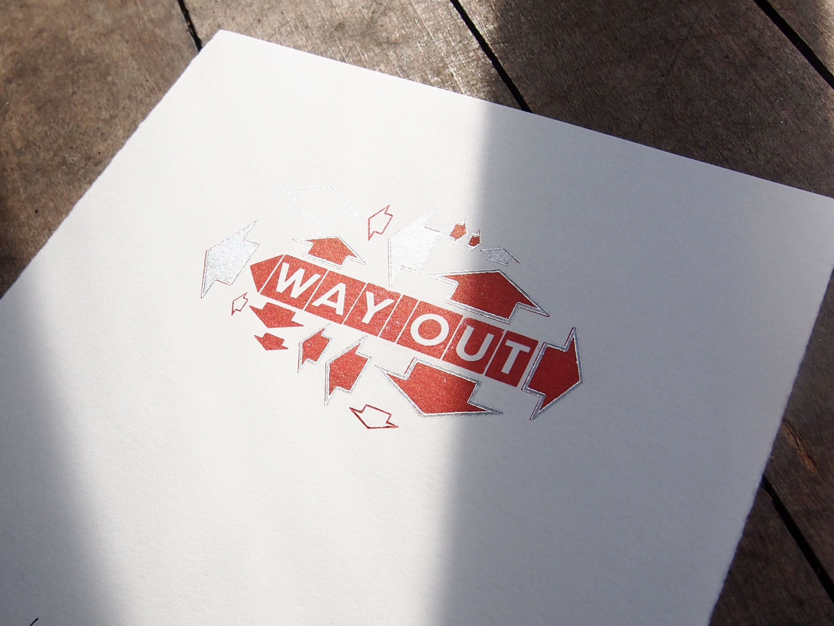 Way Out Print by Chris Barker
