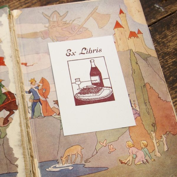 Ex Libris: Letterpress Bookplate