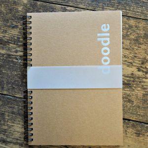 Doodle Wire bound sketchbook