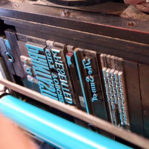 Introduction to Letterpress (Bespoke)