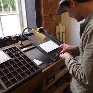 Typography Print Workshop