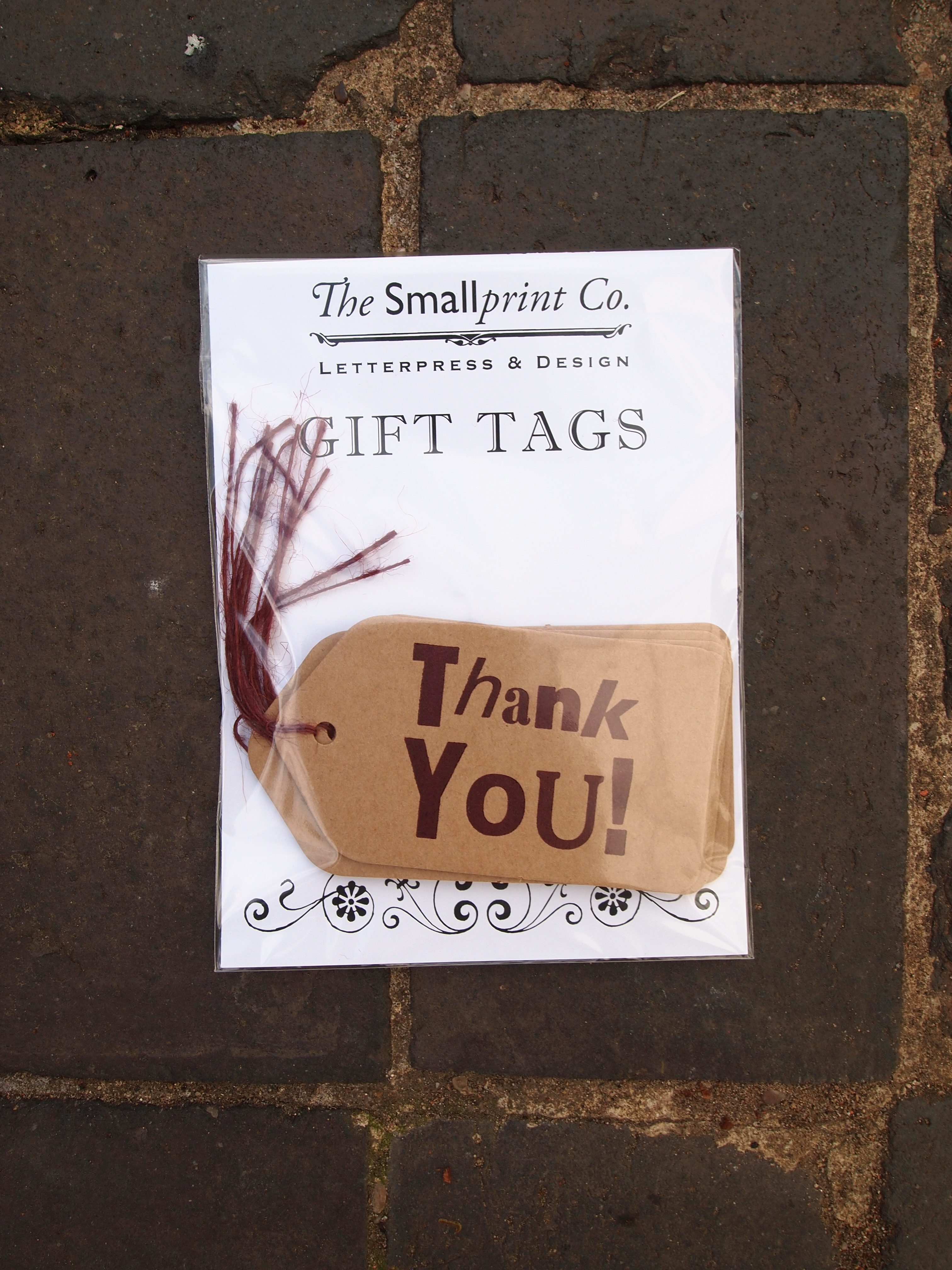 Thank you Gift Tags Packaged
