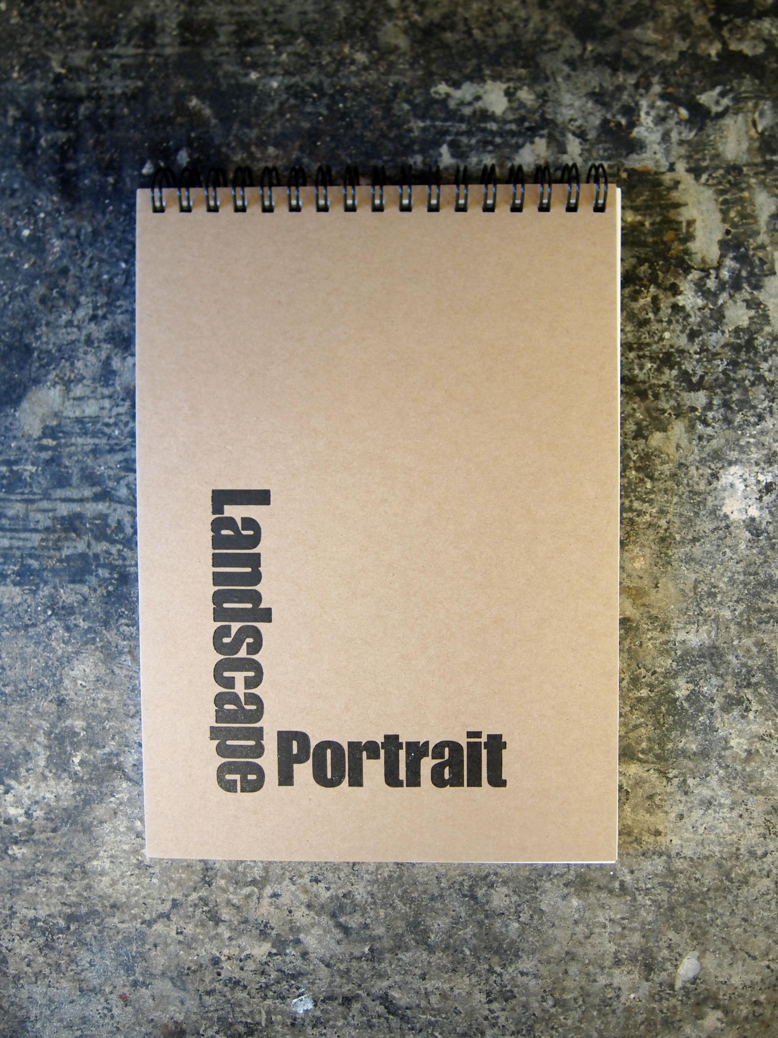 Landscape Portrait Sketchbook
