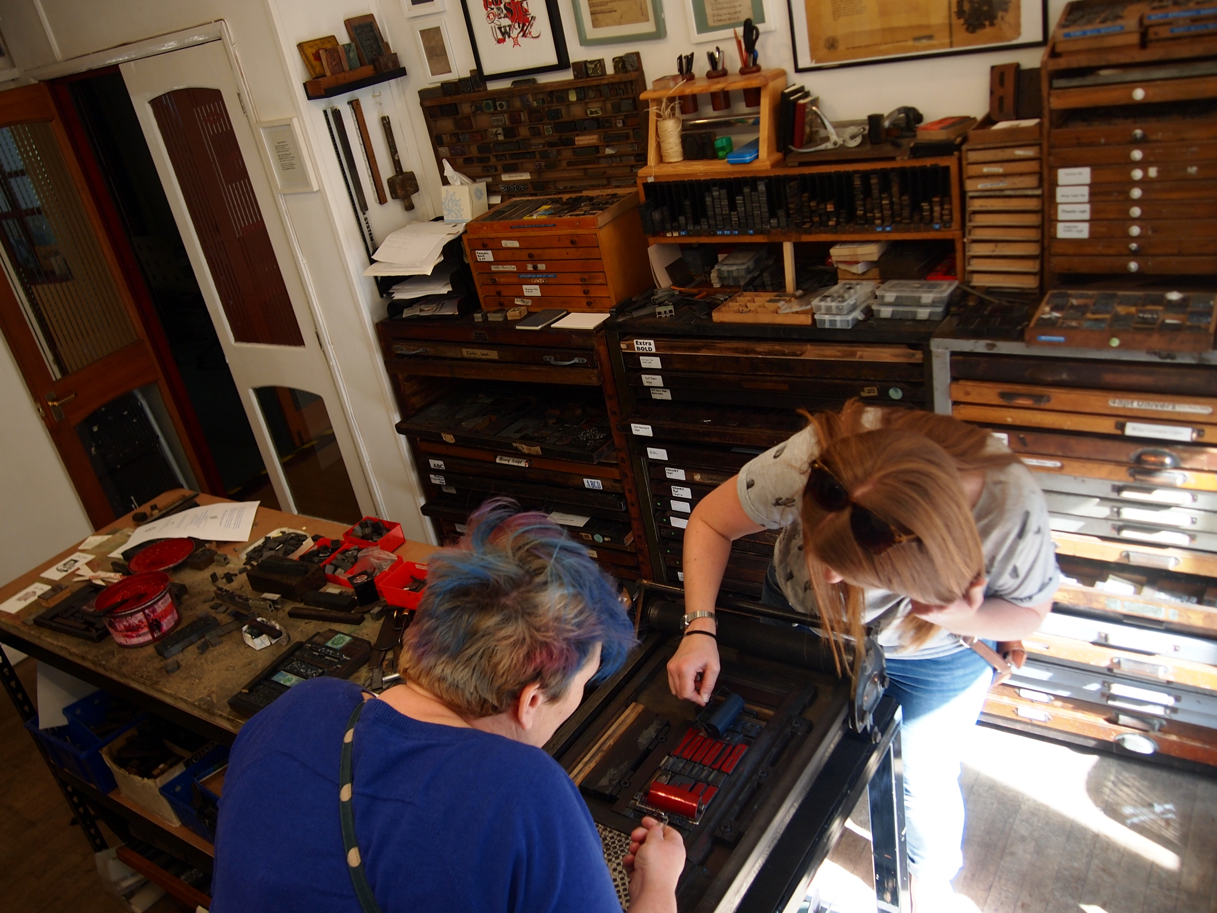 Print a Letterpress Poster: Drop-in session