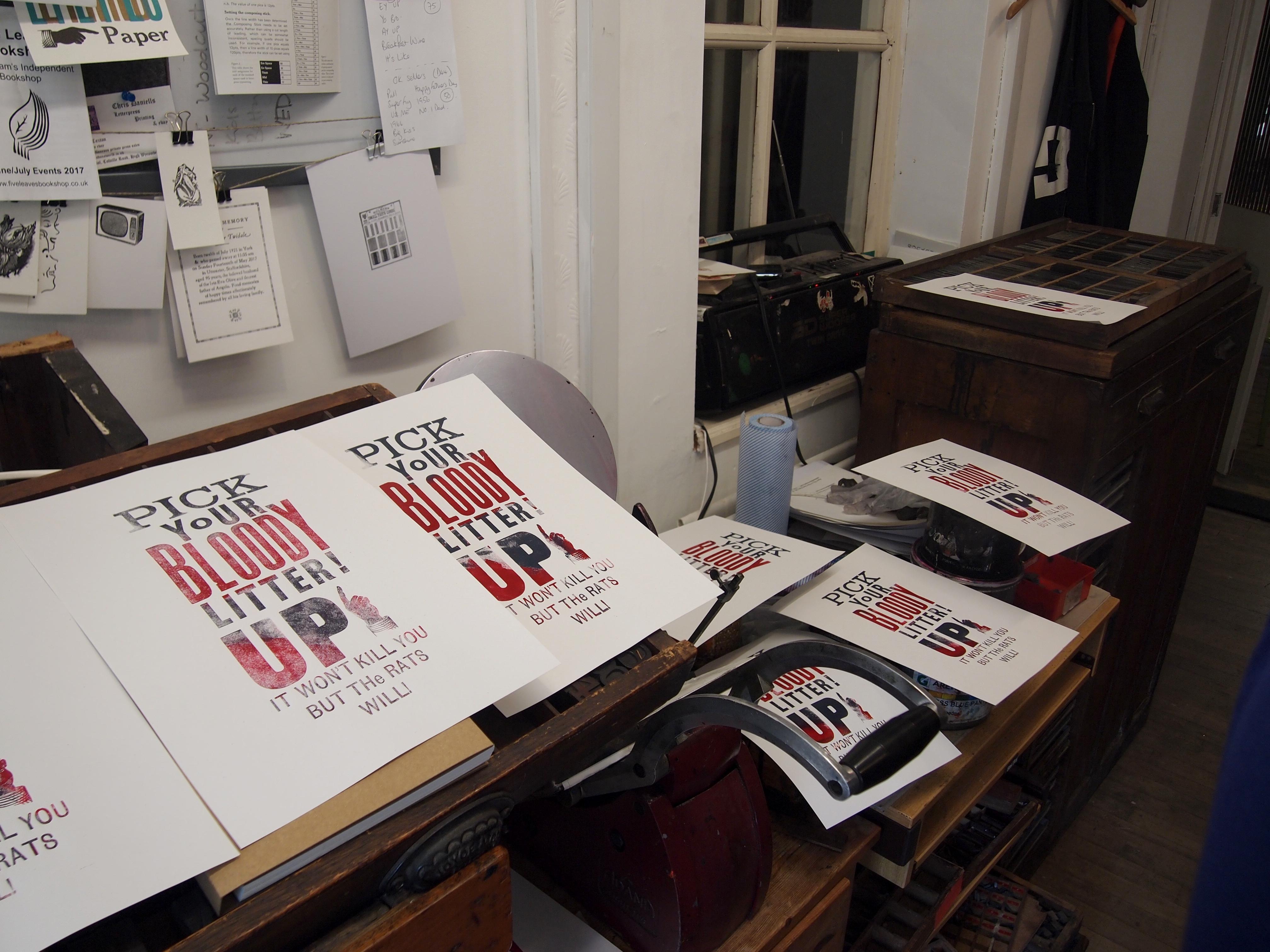 Print a Letterpress Poster-a-thon