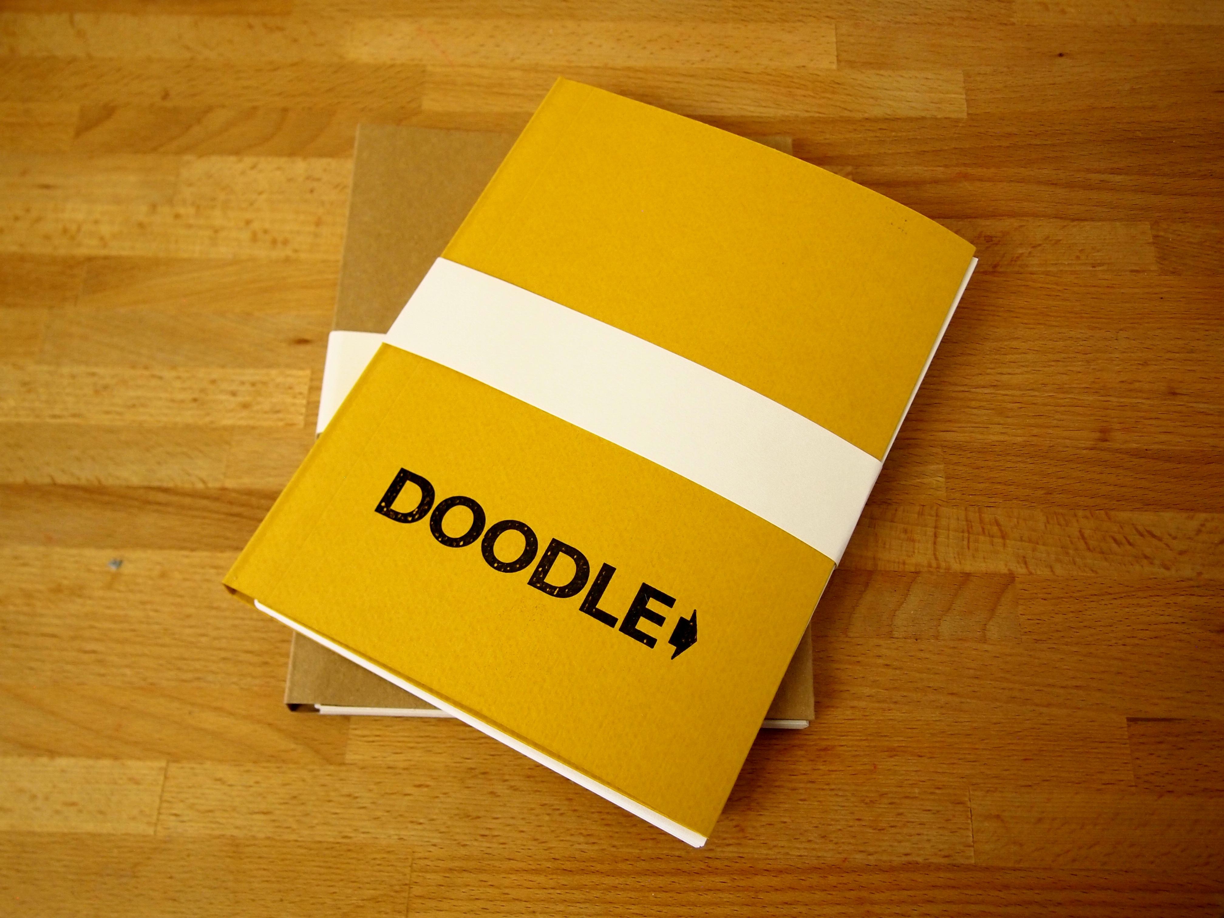 Wraparound Cover Canadian Bound sketchbook - Doodle