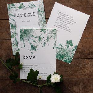 Wild Flower – Invitations