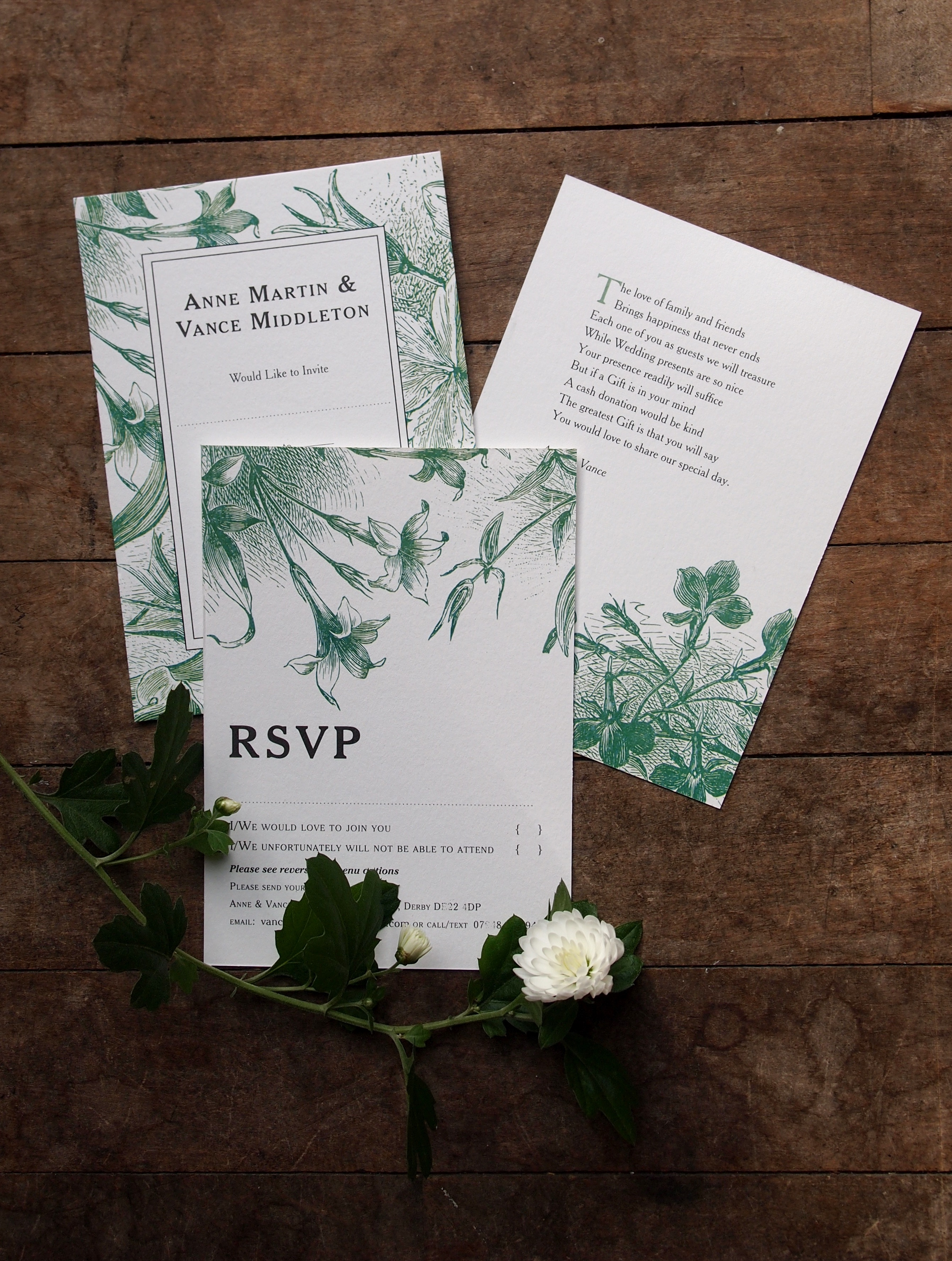 Wild Flower – Invitations
