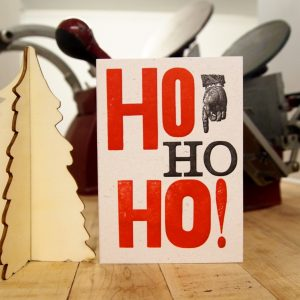 Ho Ho Ho! Christmas Card