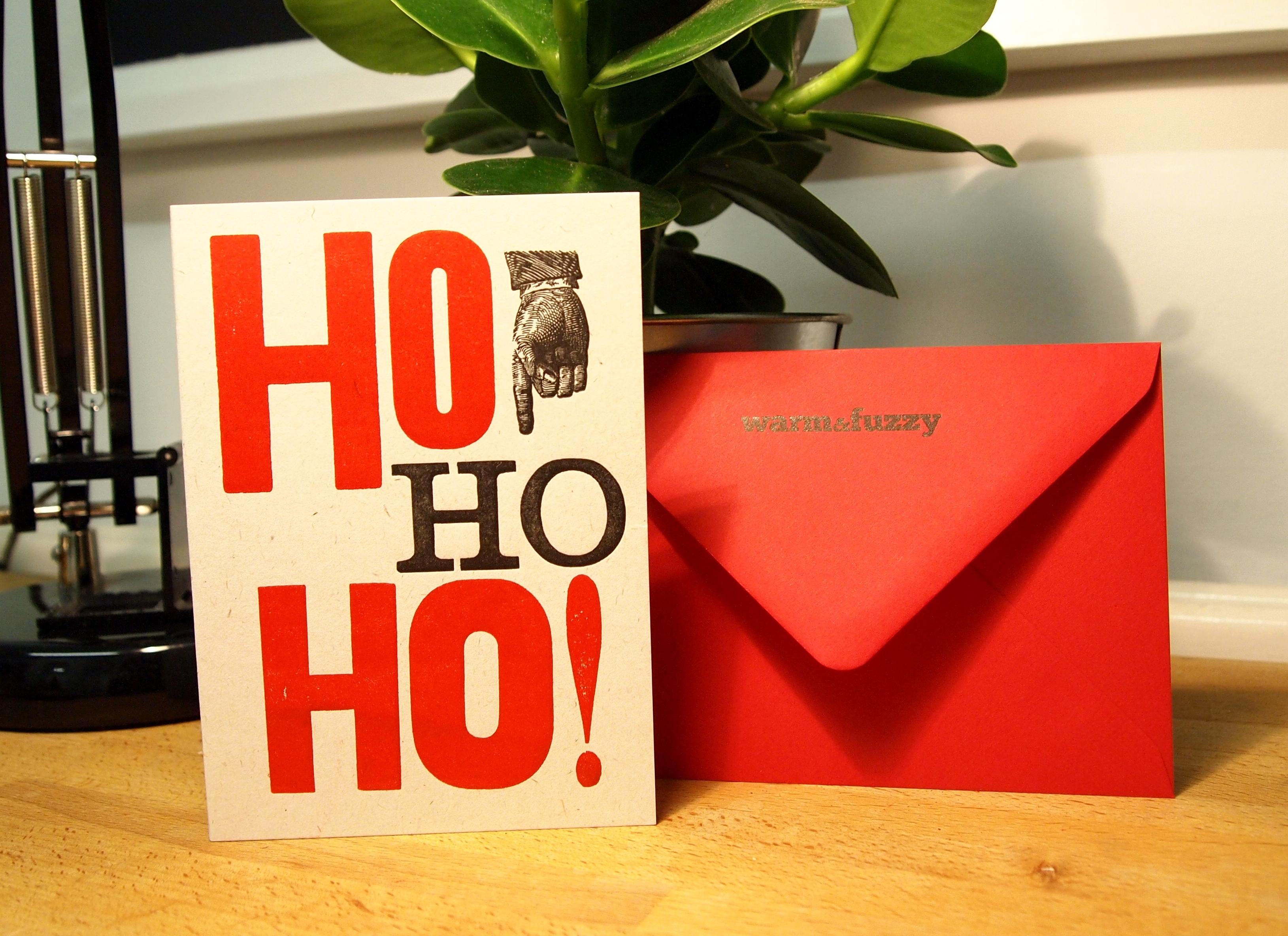 Corporate Ho Ho Ho Card