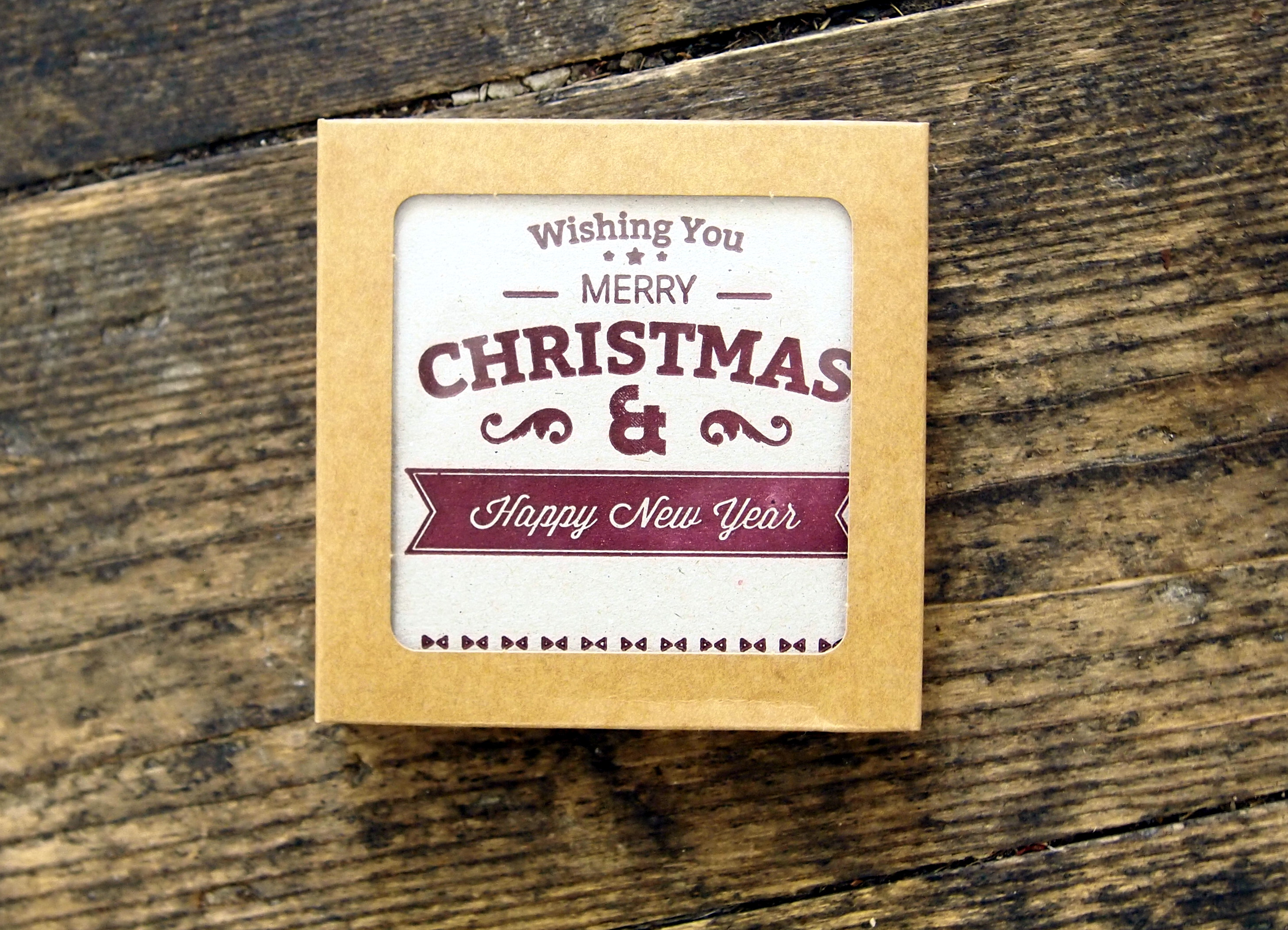 Boxed Christmas Cards - Red