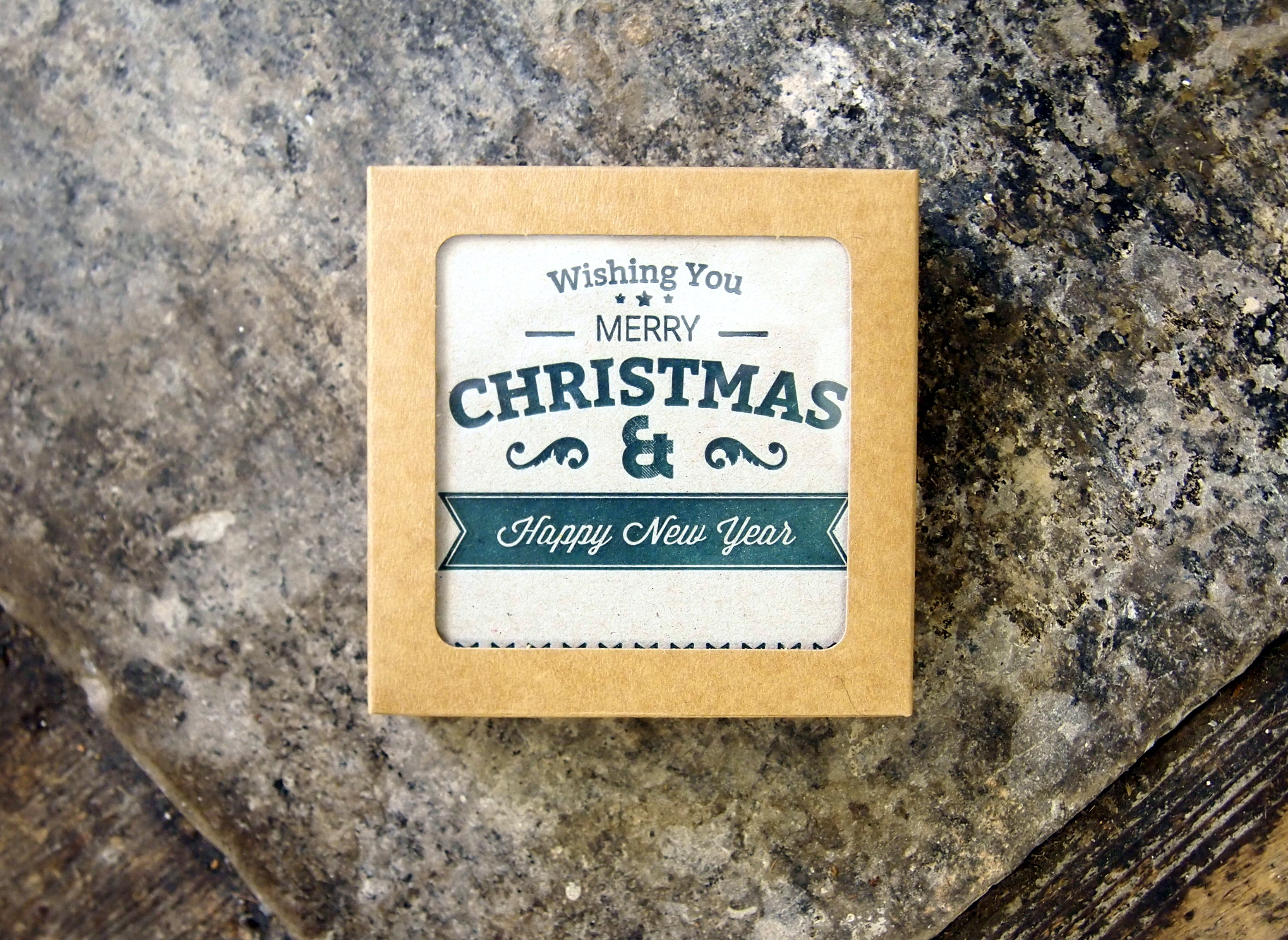 Boxed Christmas Cards - Green