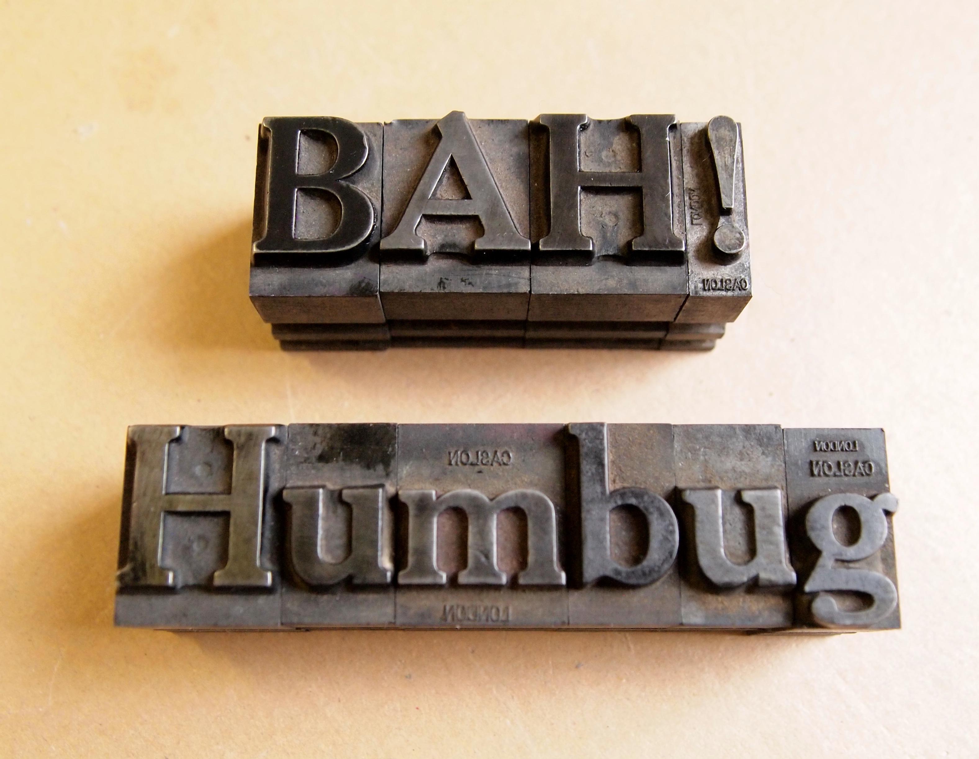 Bah Humbug Christmas pack