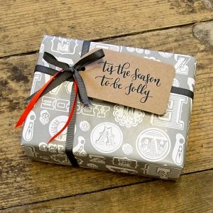 Tis the Season Letterpress Gift Tags