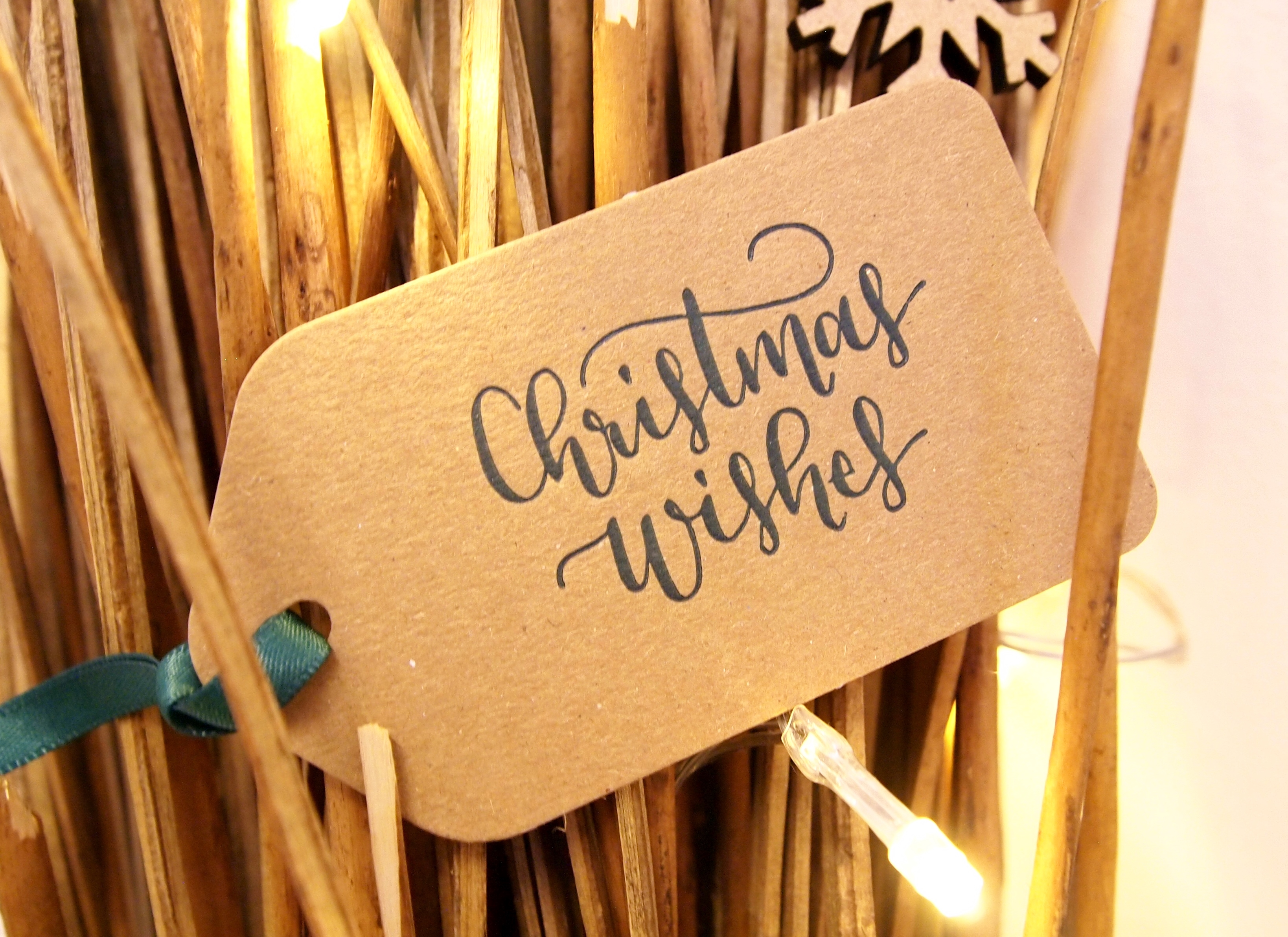 Christmas Wishes Gift Tags
