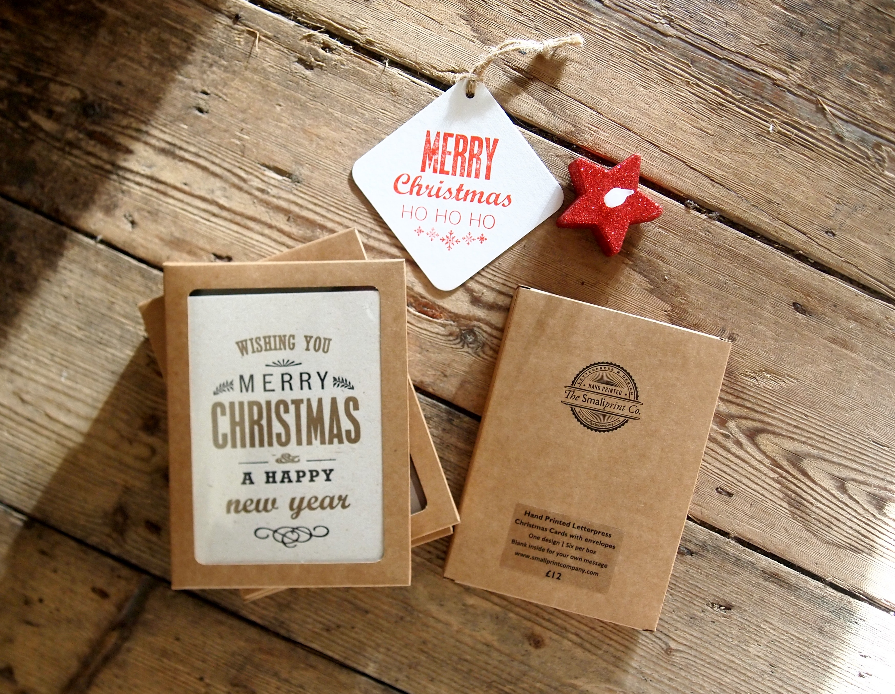 Merry Christmas Box of 6 Cards