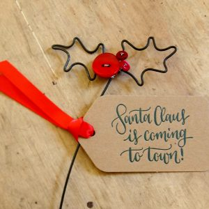 Santa Claus Gift Tag