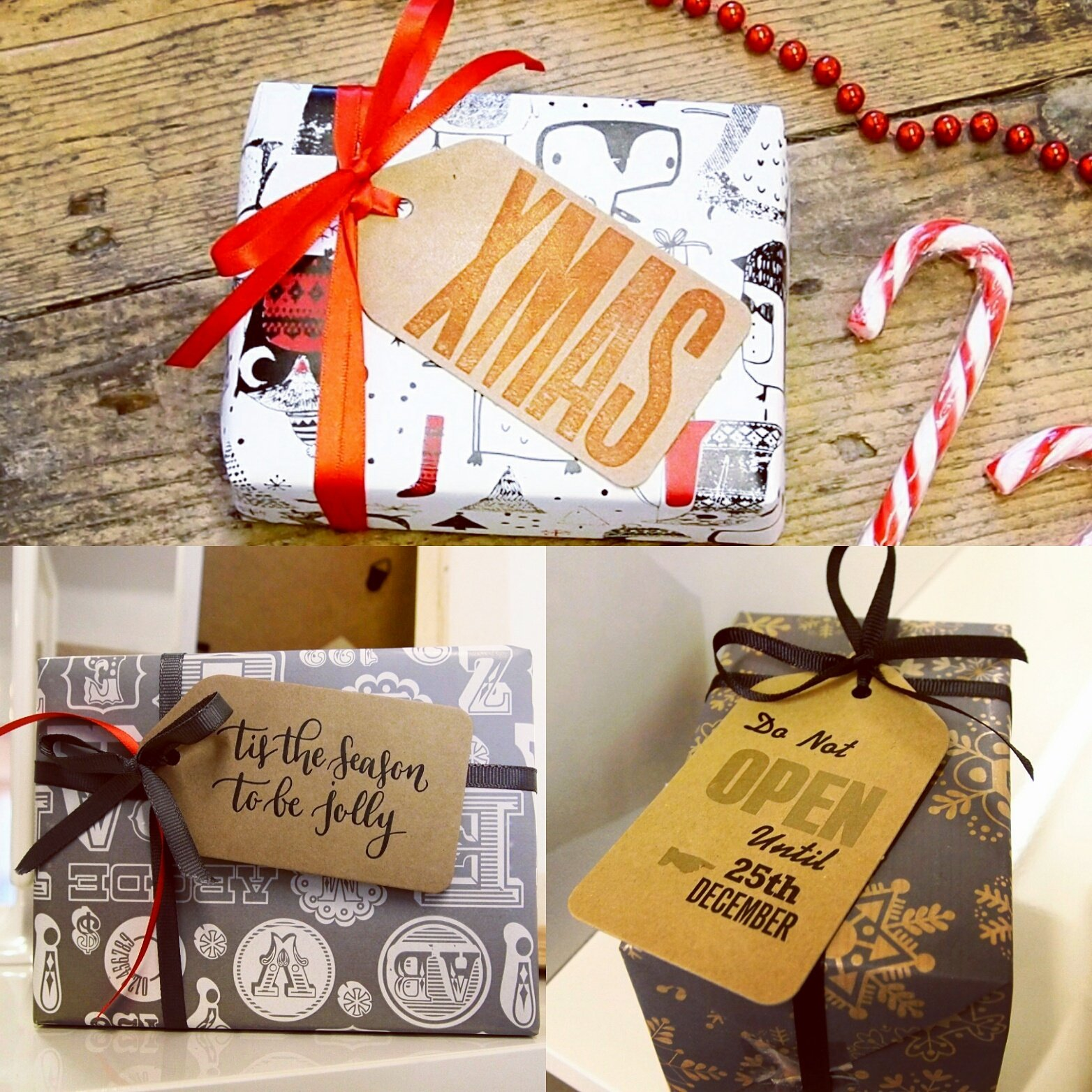 Xmas Gift Tags Various
