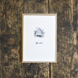 Bee Mine Letterpress Card