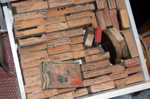 Wood Blocks - The Library
