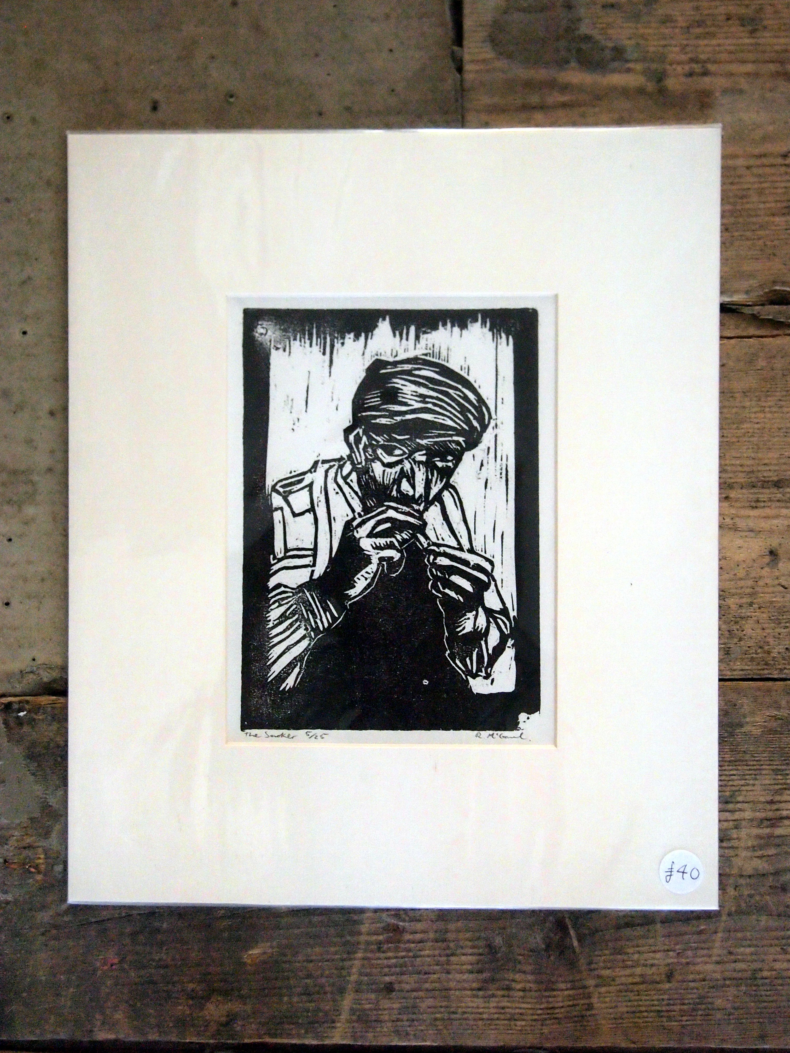The Smoker by RE McGaul (wrapped)