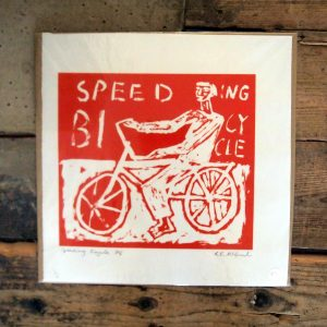 Speeding Bicycle by RE McGaul (wrapped)