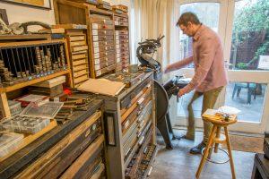 Treadle Press © Barry Ainsworth www.barryainsworth.gallery