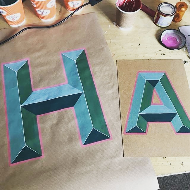 Bevelled Letters Workshop