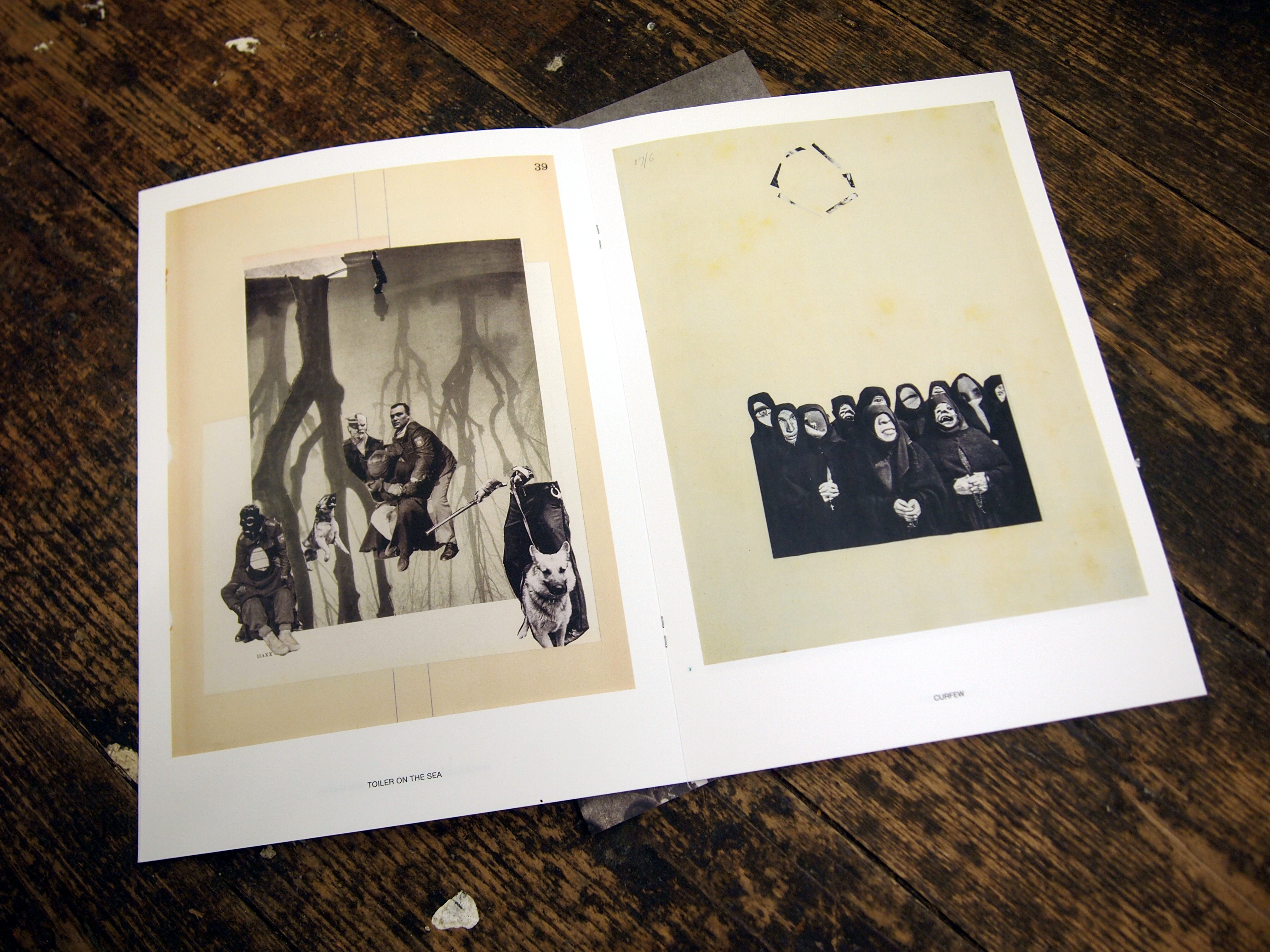 Black and White, artists book