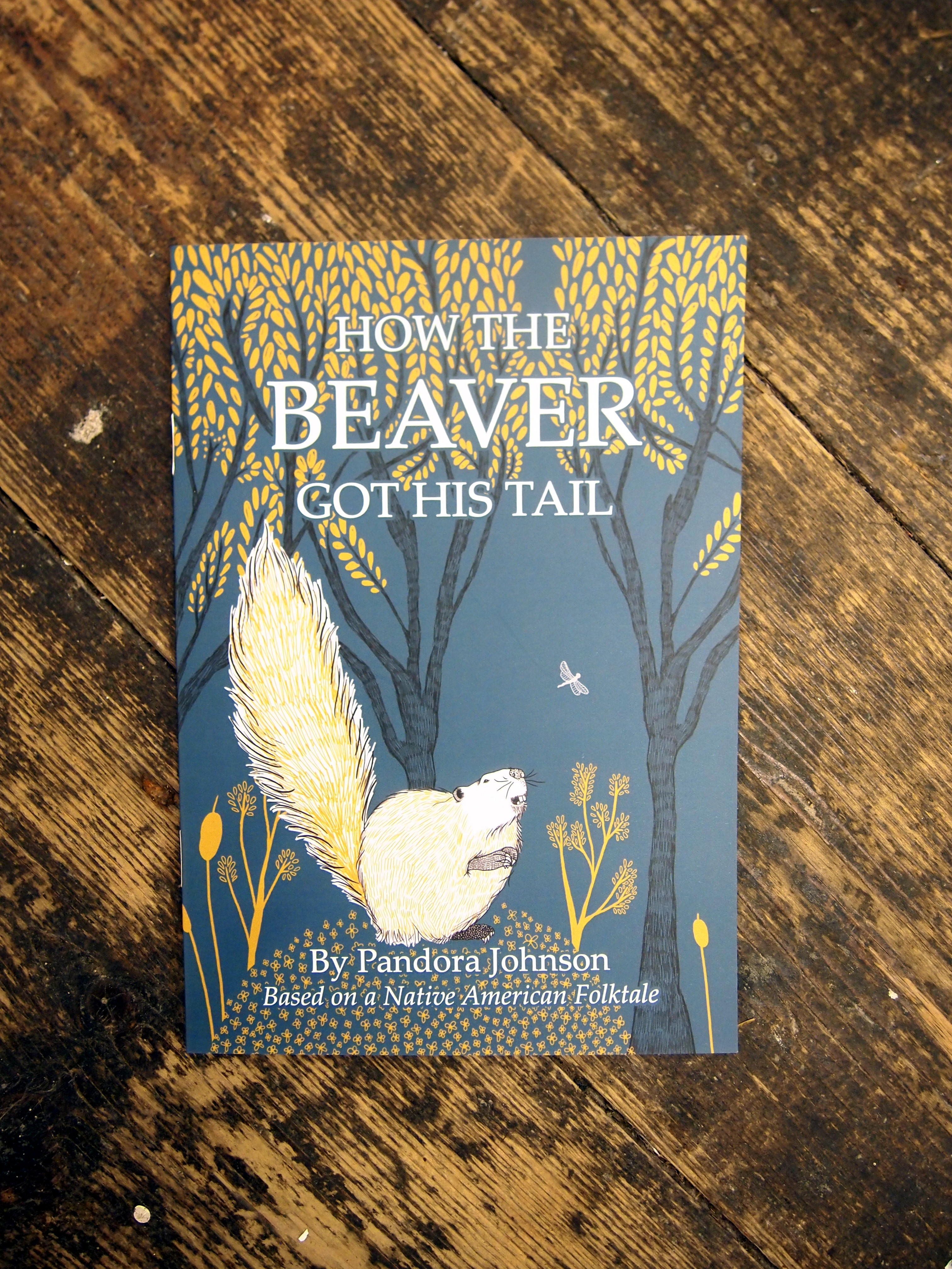 How The Beaver Gor His Tale, an illustrated tale