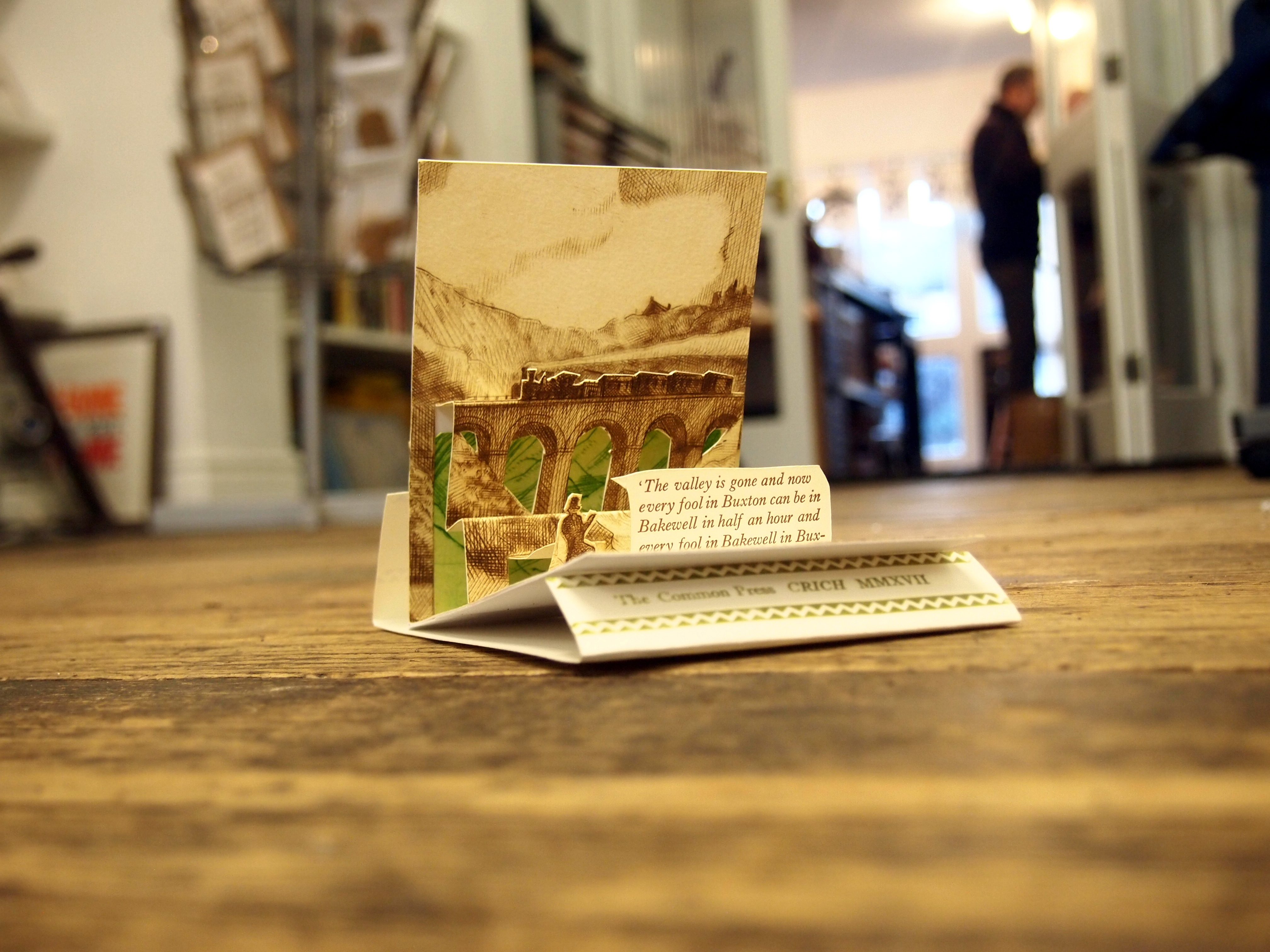 Pop-Up card by Peter Knight