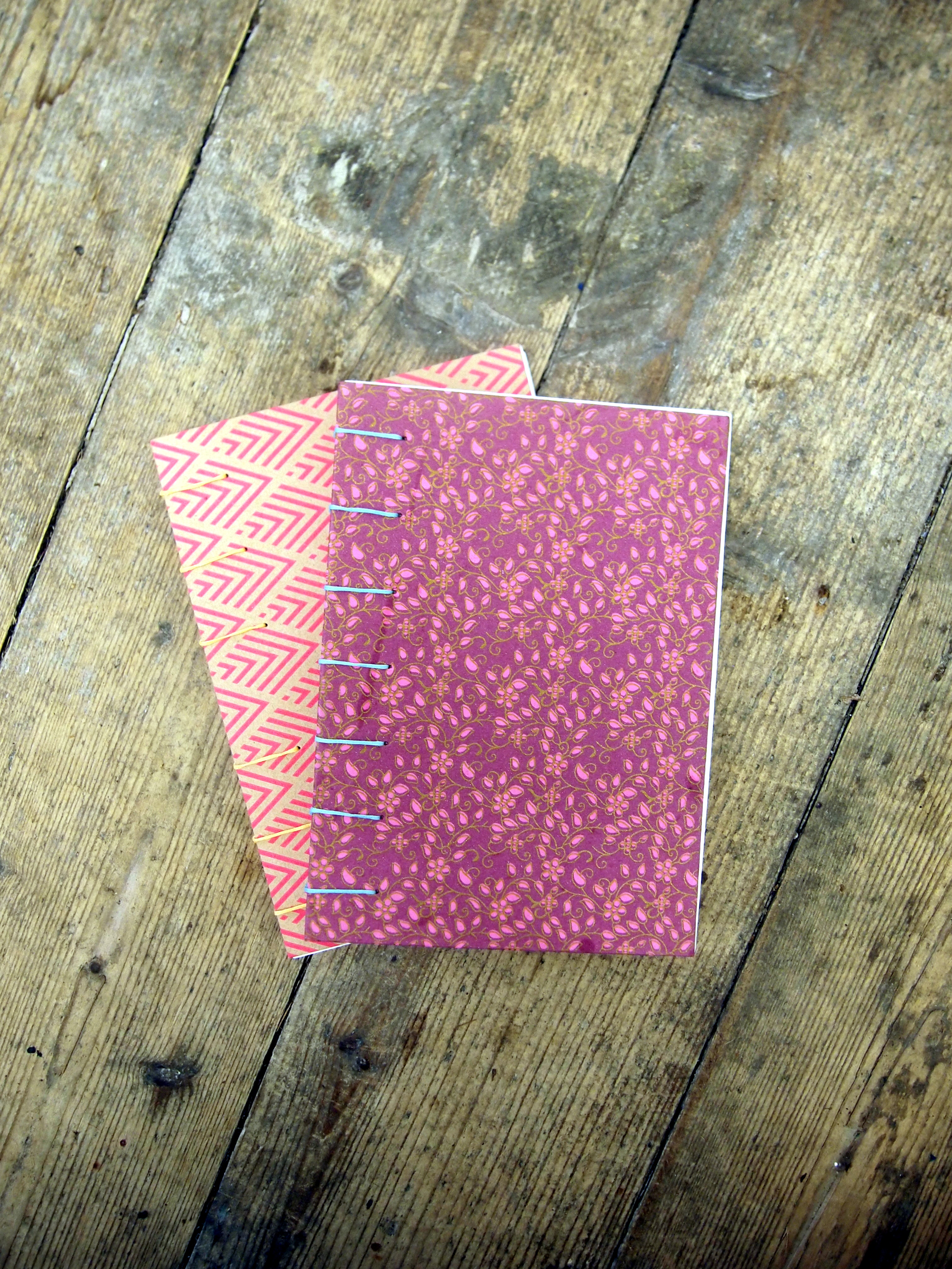 Coptic Stitch Book - Various Designs