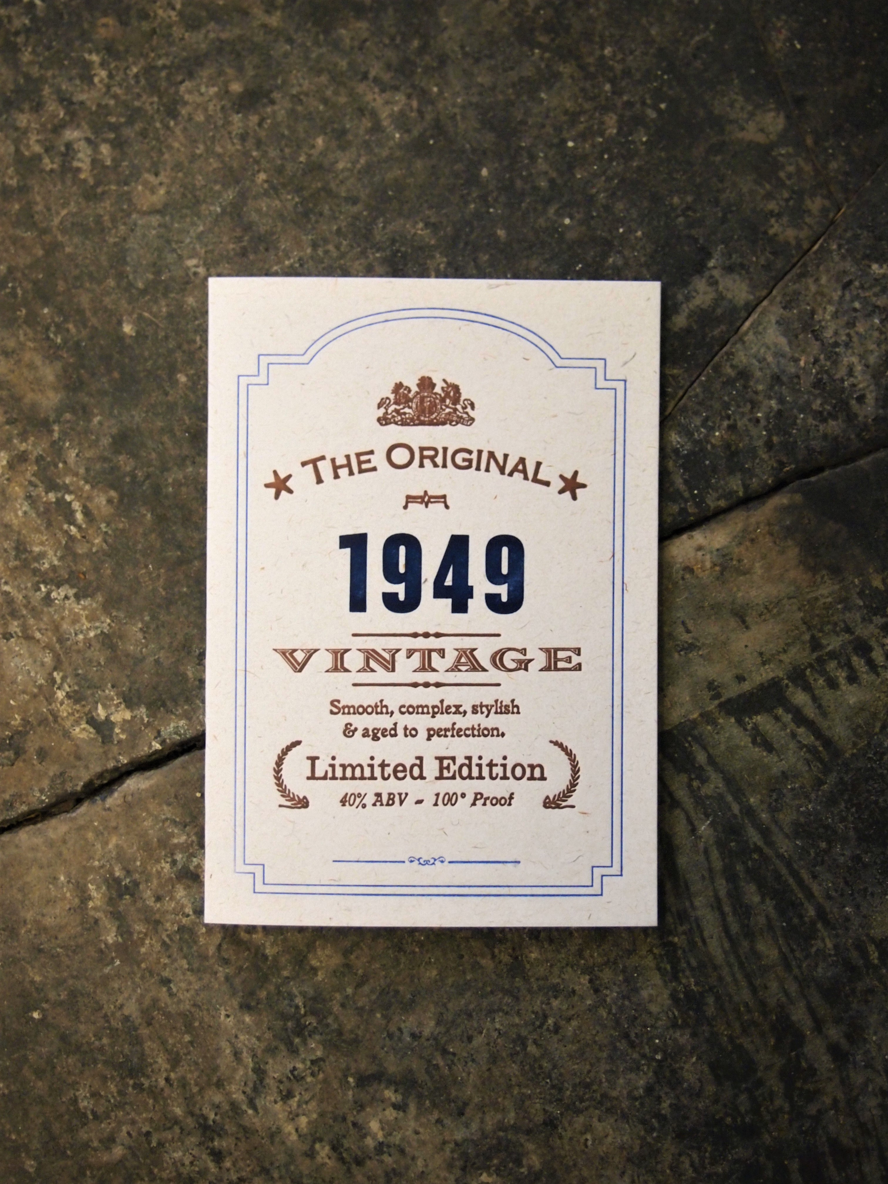 Vintage Celebration 1949