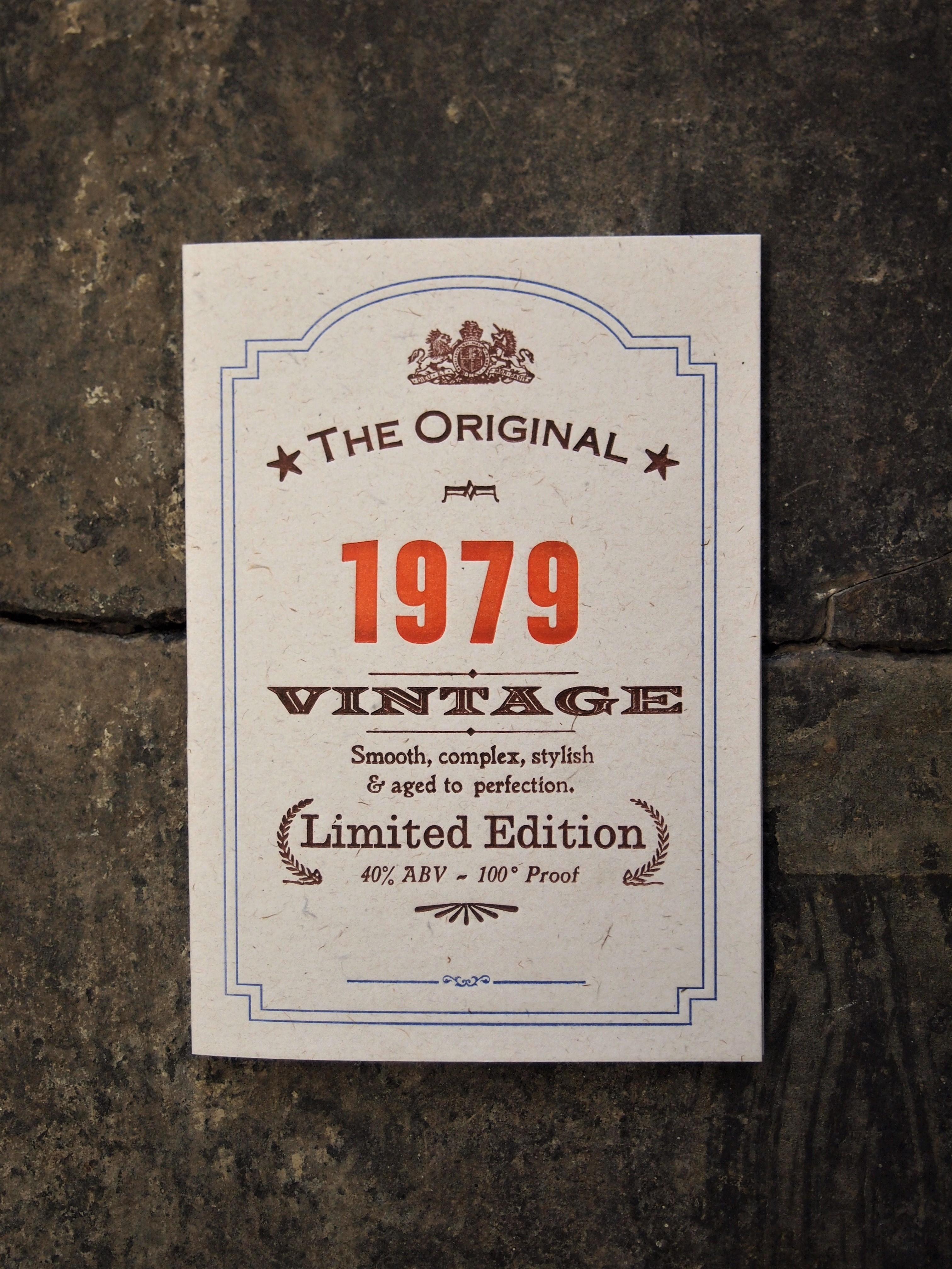 Vintage Celebration 1979