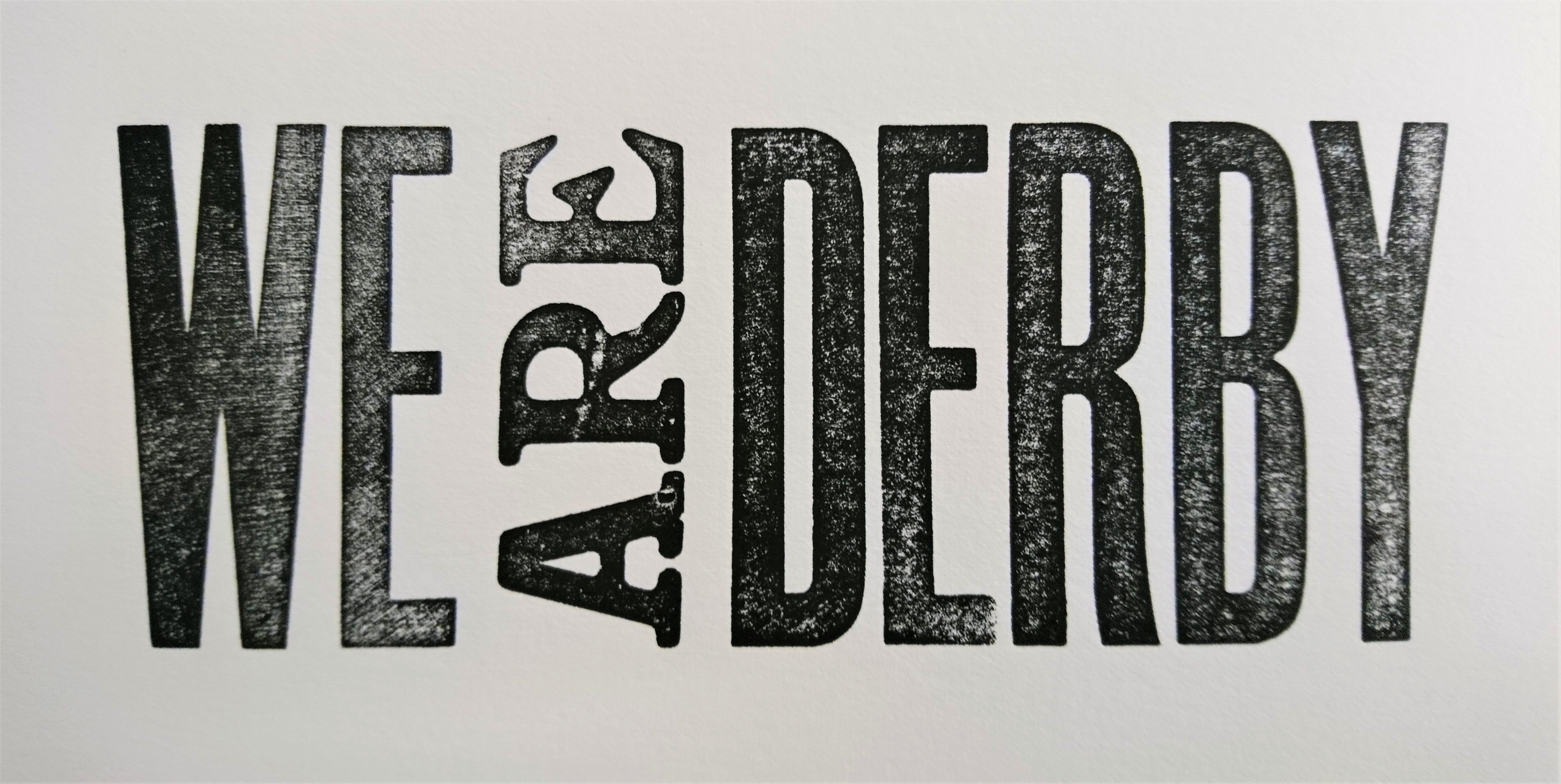We Are Derby header